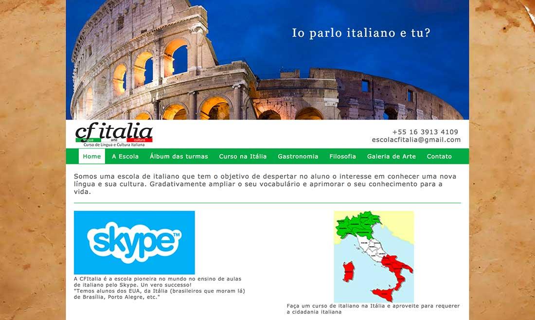 CFItalia - Escola de Italiano